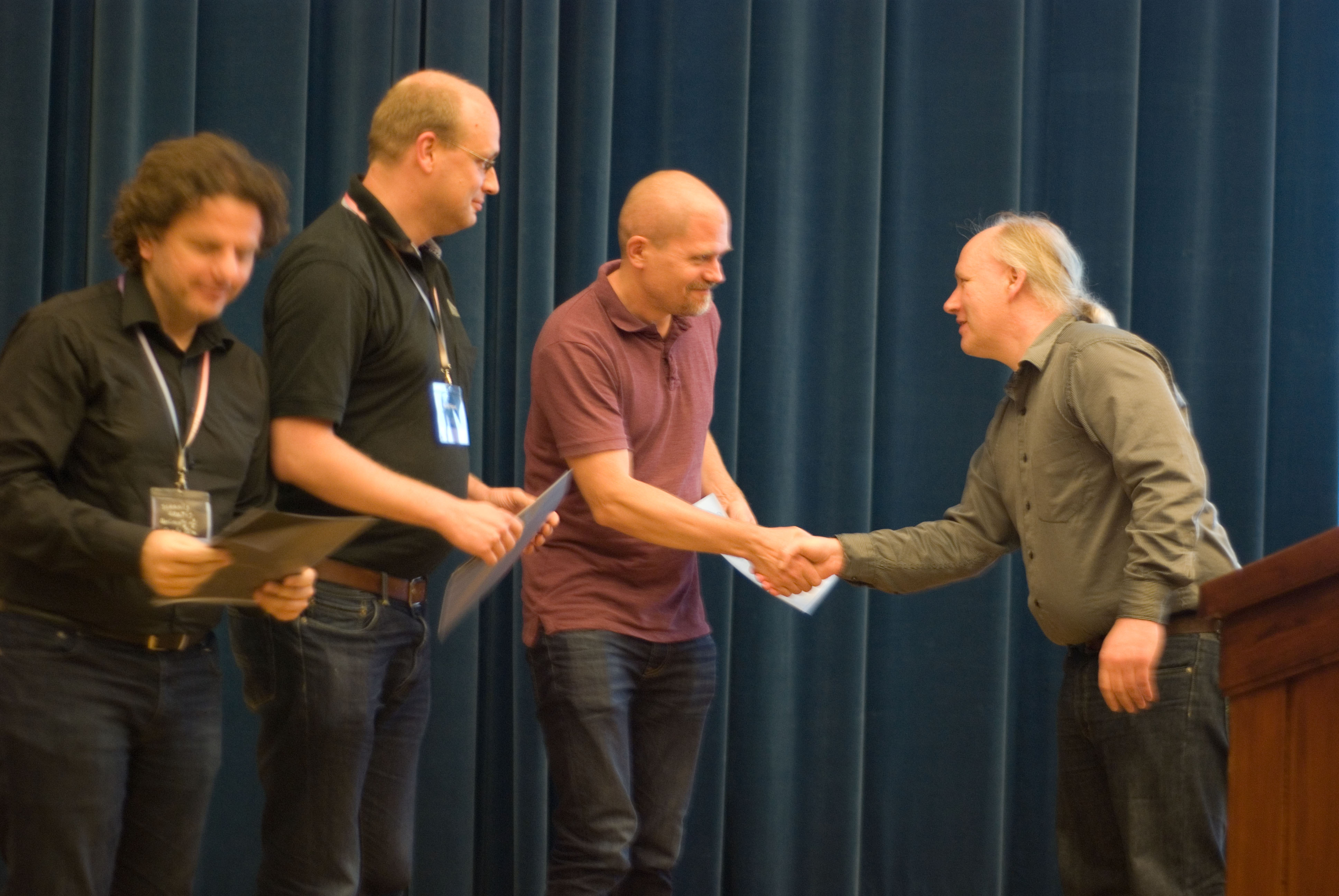 Andreas Björklund, Petteri Kaski and Ioannis Koutis receive ICALP Track A Best Paper Award