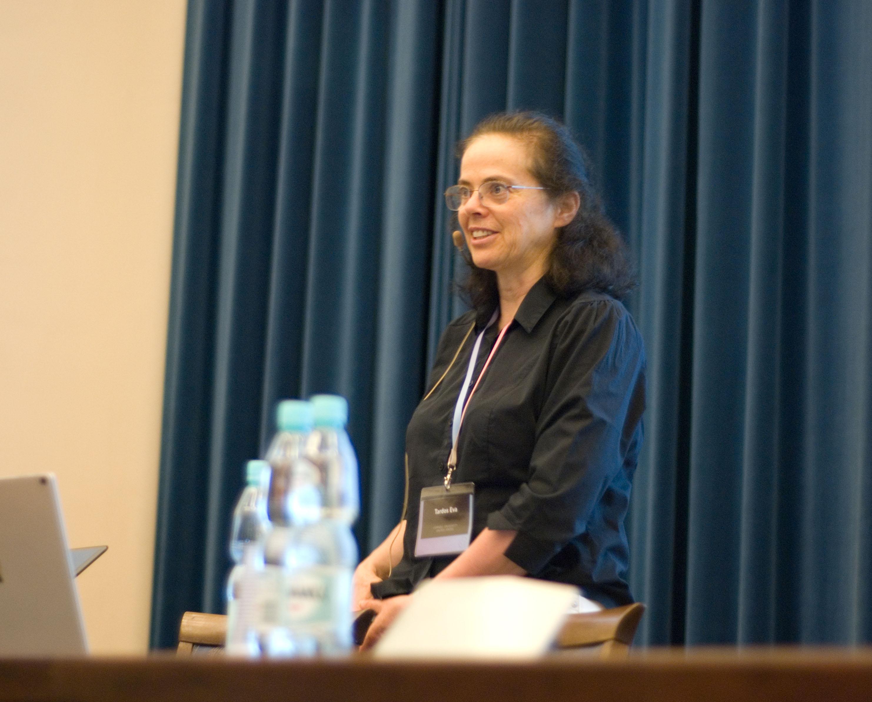 Eva Tardos' talk