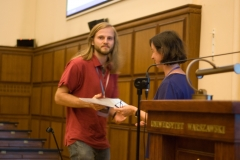 Fabian Reiter receives ICALP Track B Best Student Paper Award